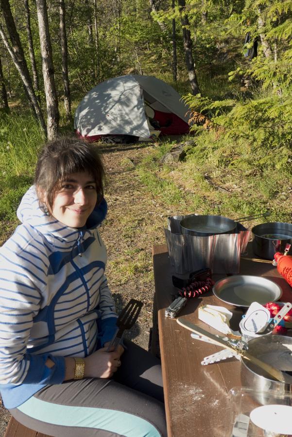 Camping At Fletcher Falls Blair Altman