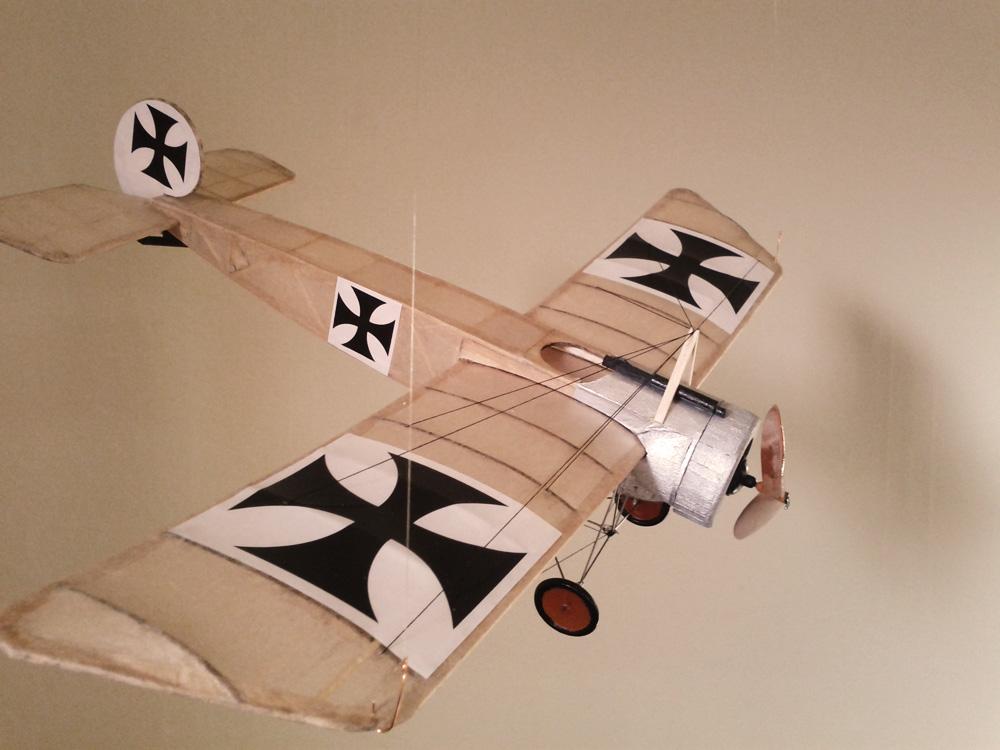 Fokker Eindecker E111 Model By Dumas Blair Altman