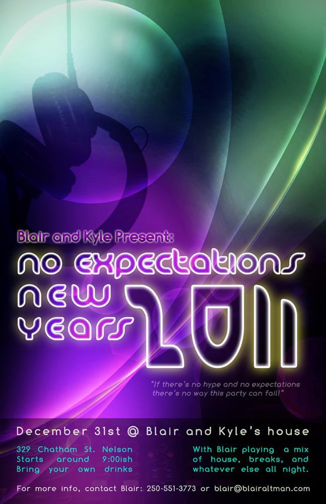 NYE 2011 Poster
